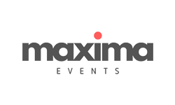 Maxima Events company logo at Bengaluru